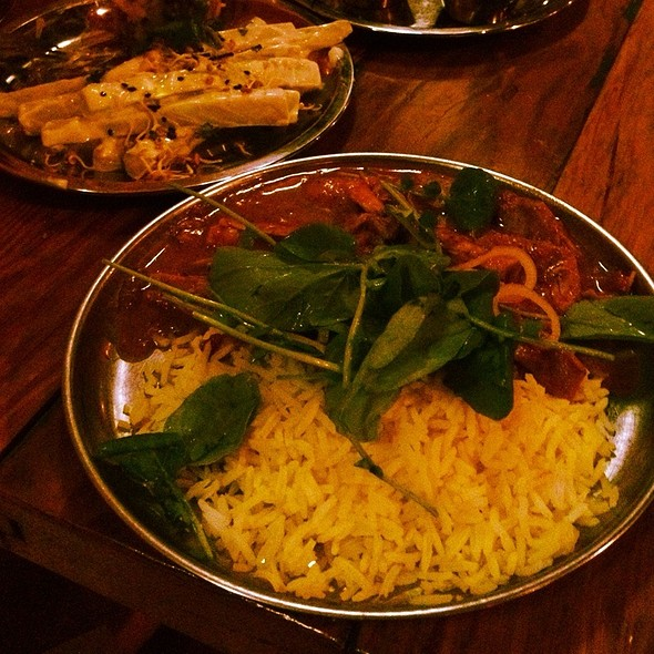 Chicken Curry @ Bollywood Theater