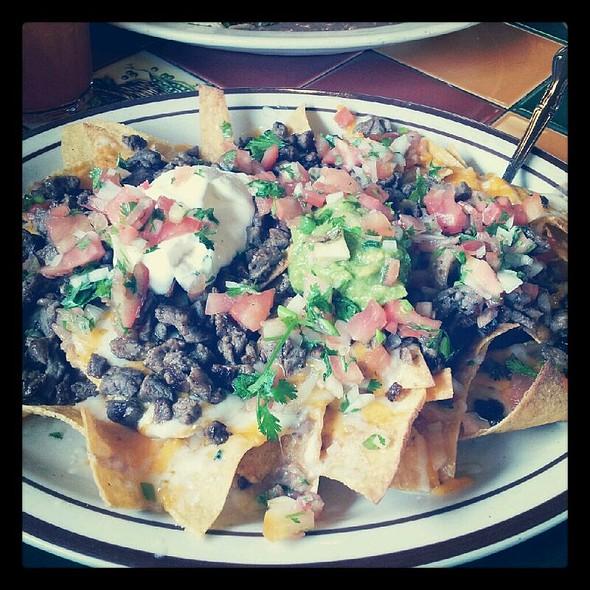 carne asada nachos @ Tacos Guaymas
