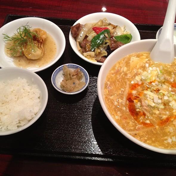 日替わり麺セット @ チャイナハウス龍口酒家