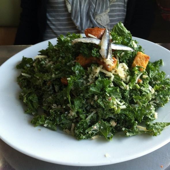 raw kale salad @ Skillet Diner