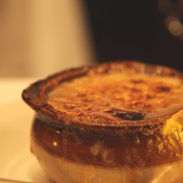Onion Soup - Benjamin Steakhouse, New York, NY