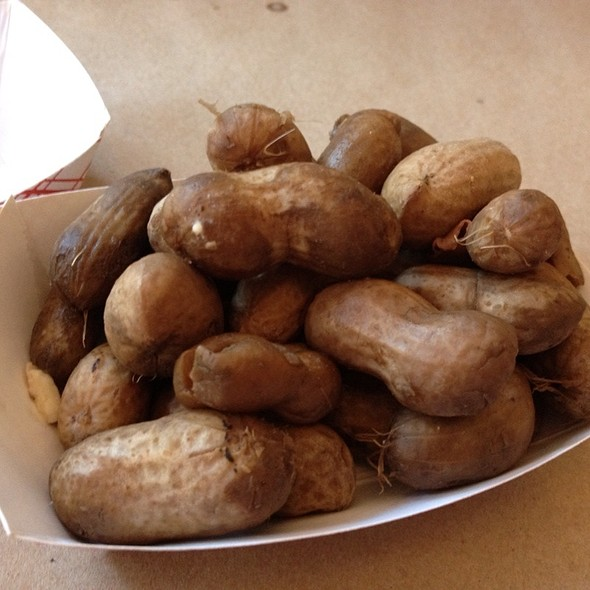 Boiled Peanuts @ Hominy Grill
