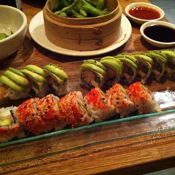 Edamame, Green Dragon Roll & California Roll - Lemongrass - Delray Beach, Delray Beach, FL