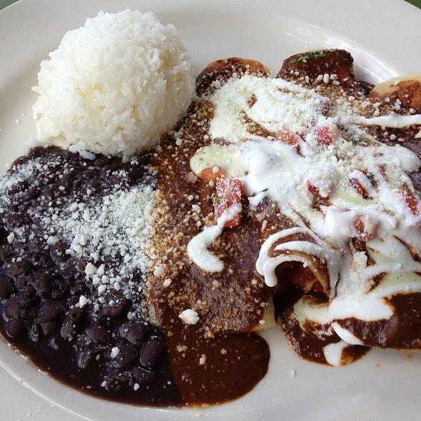 Mole Enchilada @ Cafe Ena