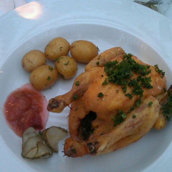 Chicken @ Restaurant Brdr. Price - Tivoli