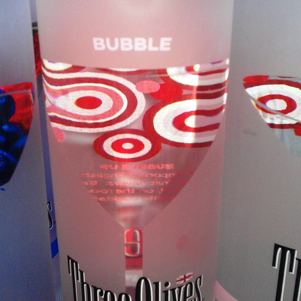 Three Olives Bubble Vodka