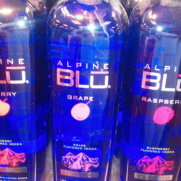 Alpine Blu Fruit Vodka's