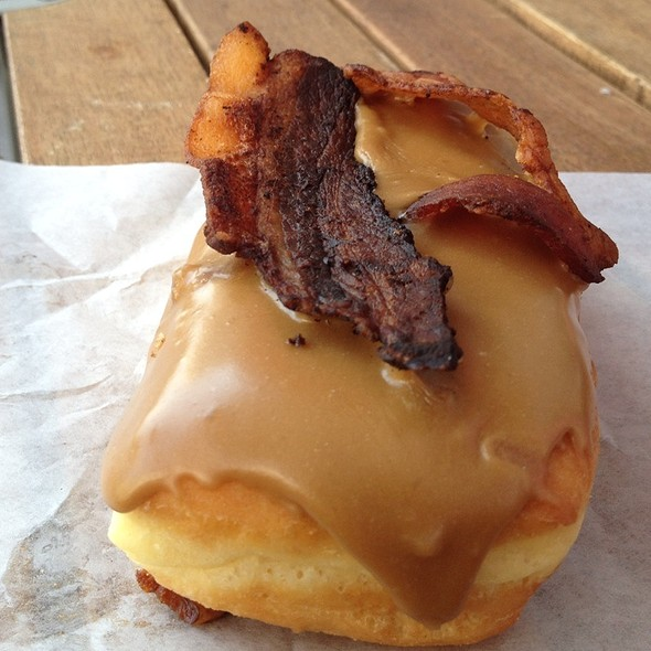 Bacon Donut @ Voodoo Doughnut Too
