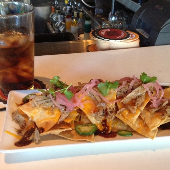 Duck Confit Nachos @ Uptown Cafeteria and Support Group