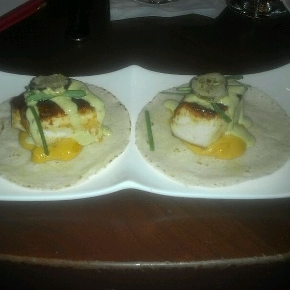 Grilled Sea Bass Tacos @ El Vez