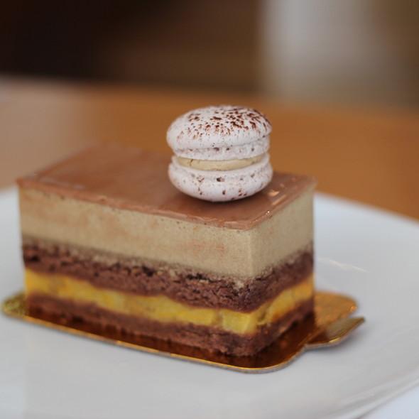 espresso mousse cake @ La Bamboche Patisserie