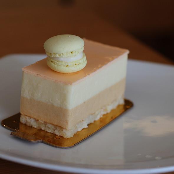 yuzu mousse cake @ La Bamboche Patisserie