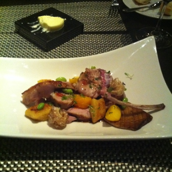 Suckling Pig And Japanese Plum @ Rush Restaurant