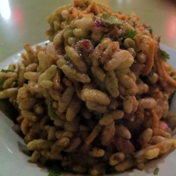 Bhel Puri @ Chaat Cafe