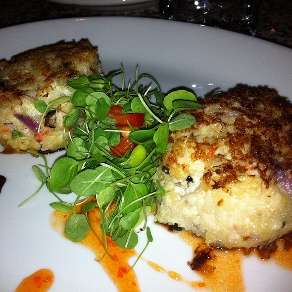 Stuffed Crab Cakes - Gilly's at The B.O.B., Grand Rapids, MI
