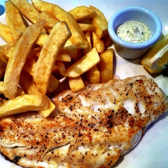 Fish and Chips @ Alberto's Cafe!!!