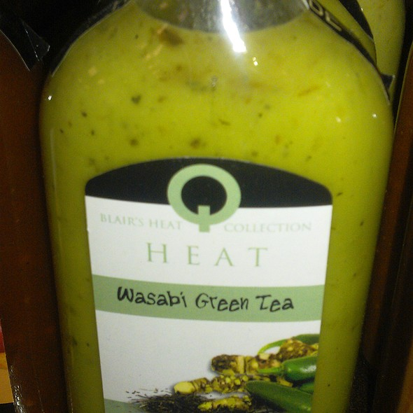 Wasabi Green tea Hot Sauce