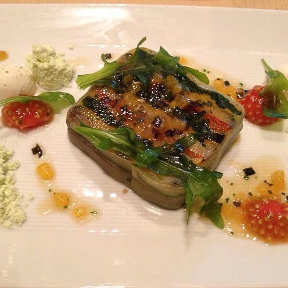Summer Vegetable Terrine @ Rouge Tomate