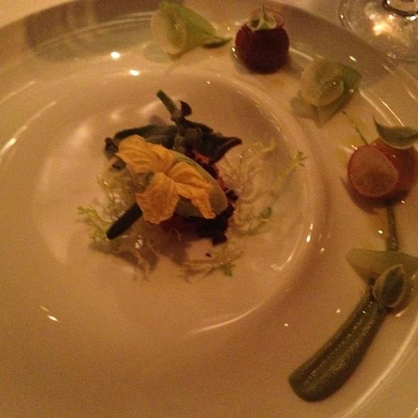 Heirloom Tomato & Avocado Puree @ Aureole