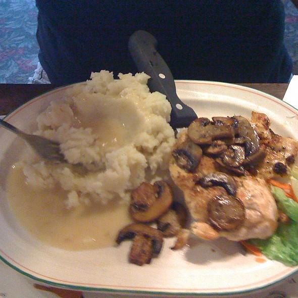 Chicken in Mushroom Gravy &  @ Brookside Restaurant