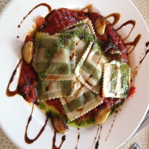 Portabello Mushroom Ravioli - Pasta Fever, Boca Raton, FL