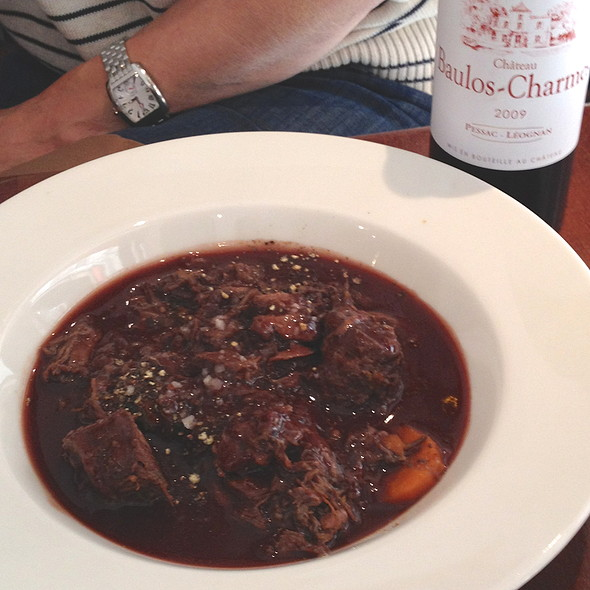Beef Bourguignon @ La Brasserie Bordelaise