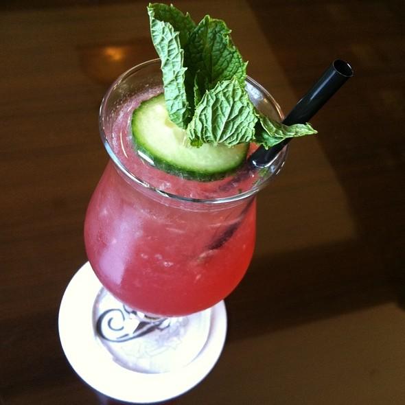 Pomegranate Cucumber Mojito