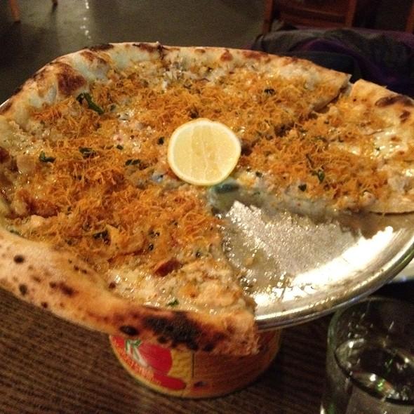 Clam Pie - Mani Osteria, Ann Arbor, MI