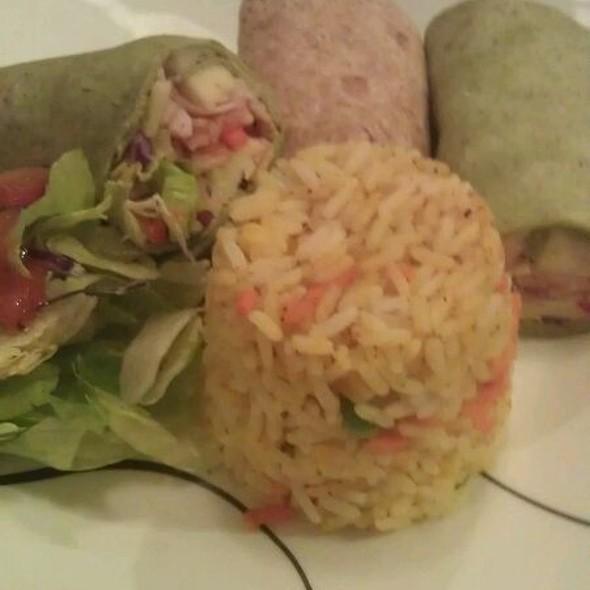 Turkey Wraps Curry Rice @ House Of Misha