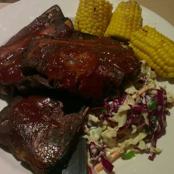 Slow Cooked BBQ Pork Ribs @ Bonny View Hotel