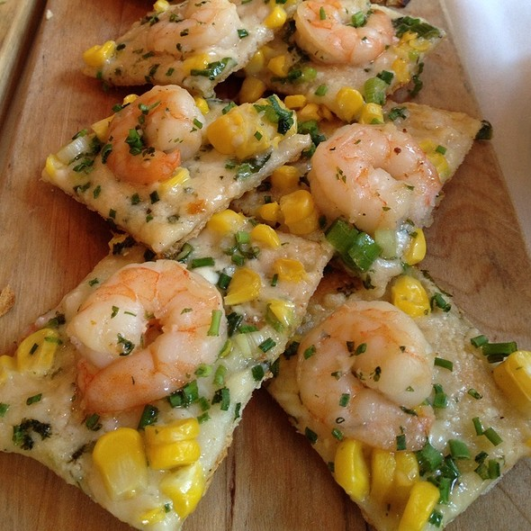 Shrimp Flatbread @ 676 Restaurant & Bar