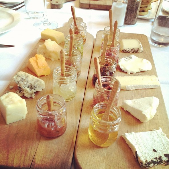 Cheese Plate @ 676 Restaurant & Bar
