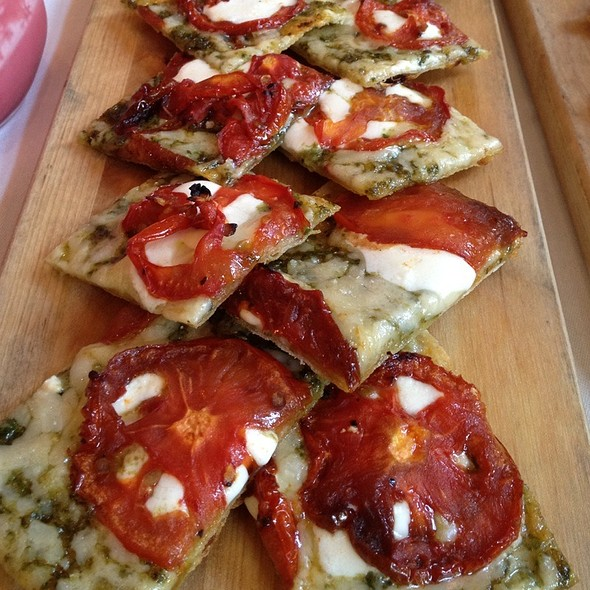 Margherita Flatbread @ 676 Restaurant & Bar