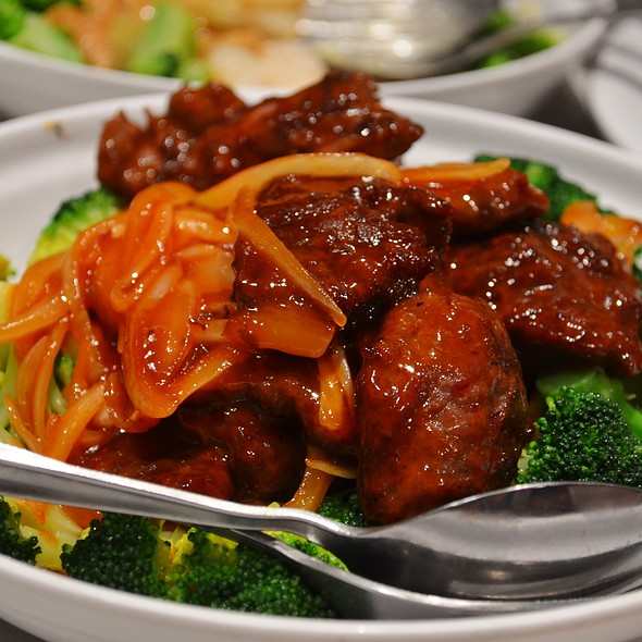 Cantonese Style Stir-Fried Beef. @ Pacific Seafood BBQ House