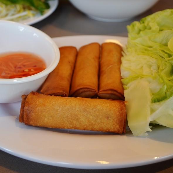 Chicken & Prawn Spring Rolls. @ Mekong Vietnam