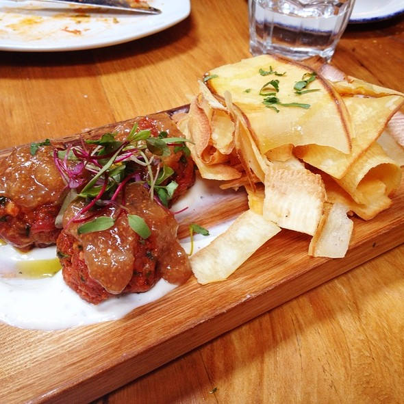 Beef Tartare - Gusto 101, Toronto, ON