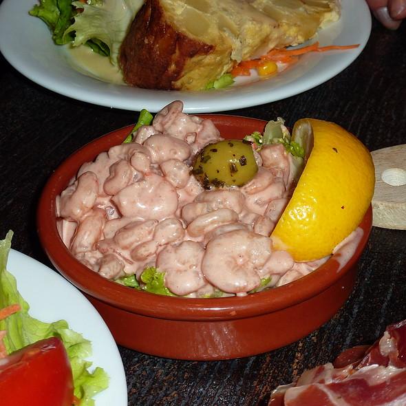 Cocktail De Crevettes @ Restaurant Tapas El Pimiento