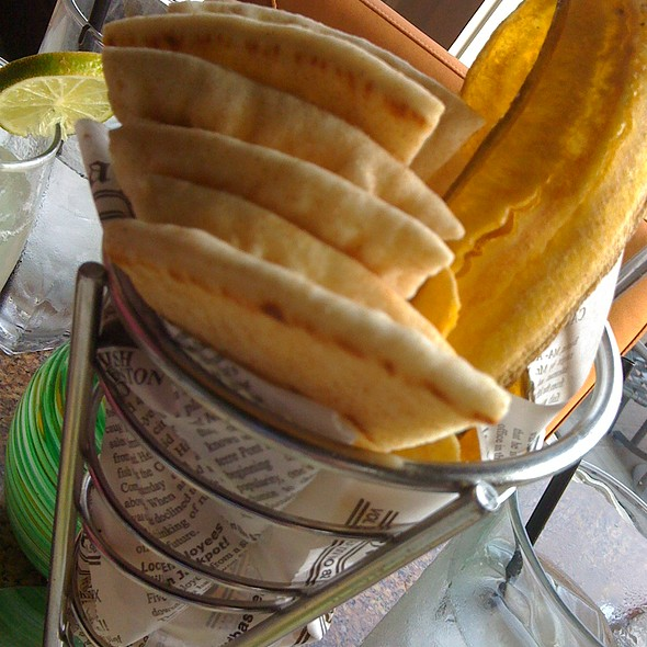 Plantain Chips @ Chart House