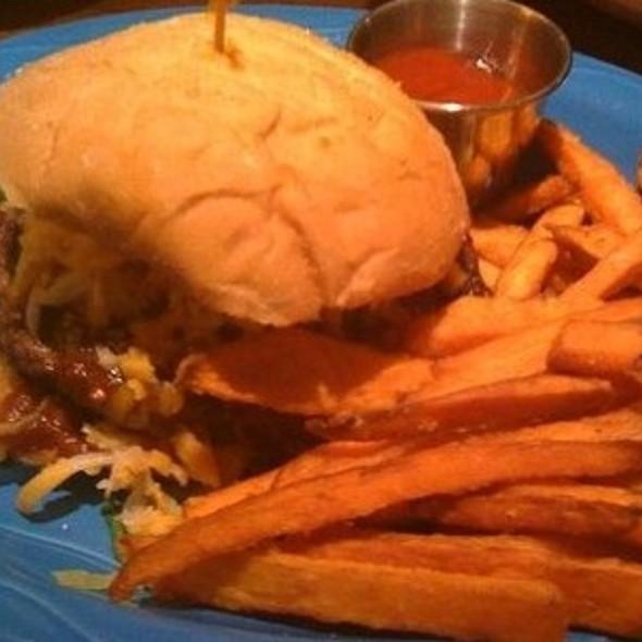 Hickory BBQ Burger Sandwich @ Sweetwater Tavern