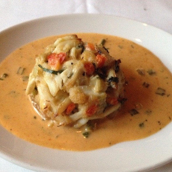 crab cake - Del Frisco's Double Eagle Steak House - Houston