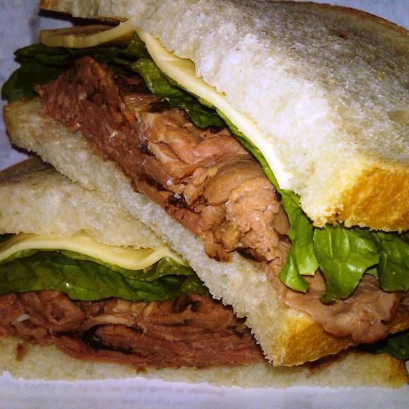 Roast Beef Sandwich @ Jetties Inc