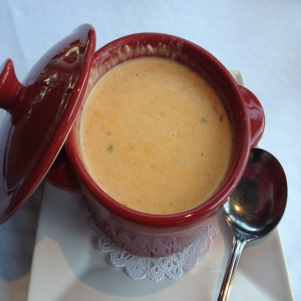 Shrimp Bisque @ Harry's On The Green