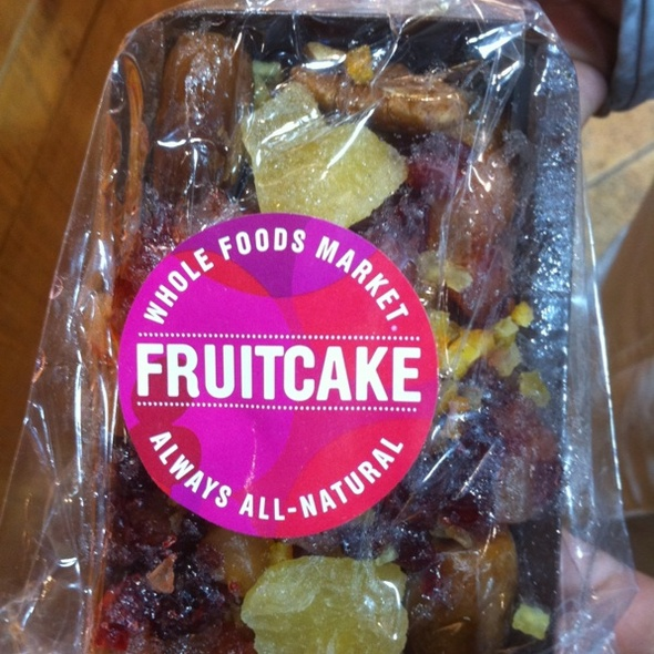 fruitcake @ The Foodspotting Holiday Spotathon