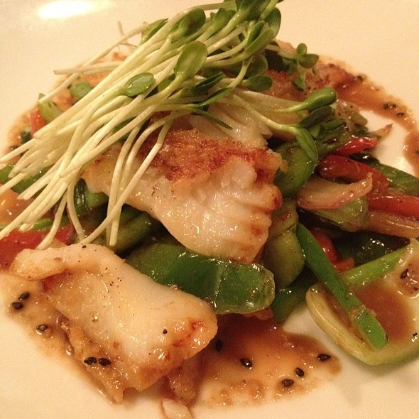 Miso-Glazed Cod @ The Good Earth