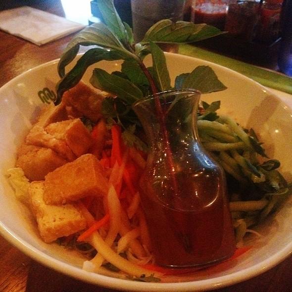 Rice Noodle Salad @ Boom Noodle