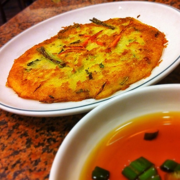 Pajeon (Korean Pancake) @ Young Dong Tofu