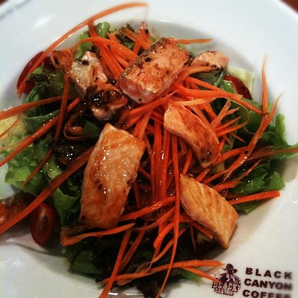 Salmon salad @ Black canyon