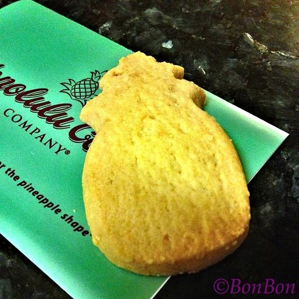 Butter Macadamia Shortbread