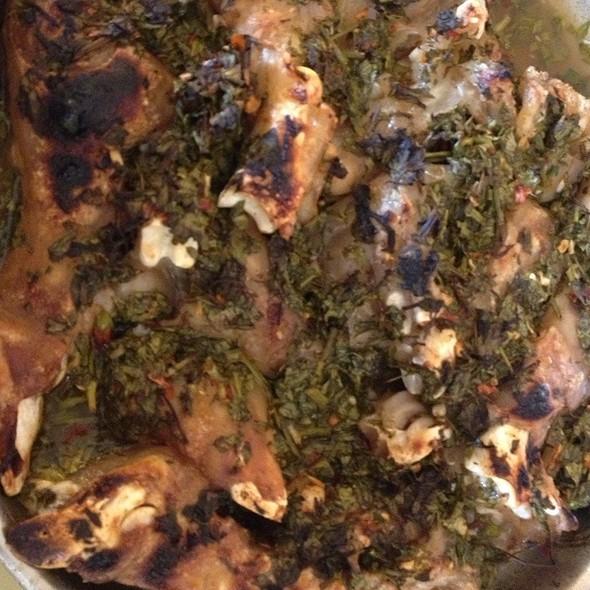 Grilled Lamb Legs كوارع مشوية @ K & K