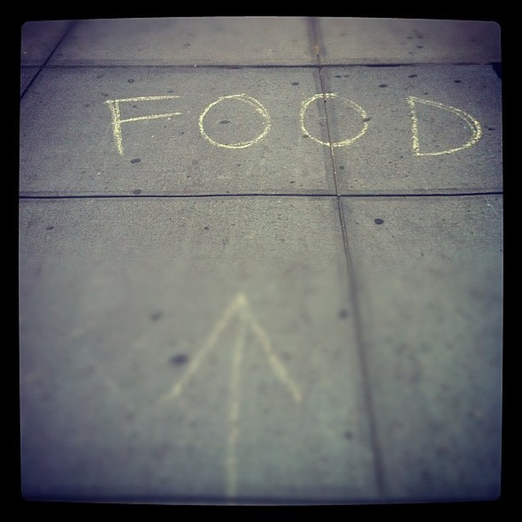 What do you think this means?! @ soho